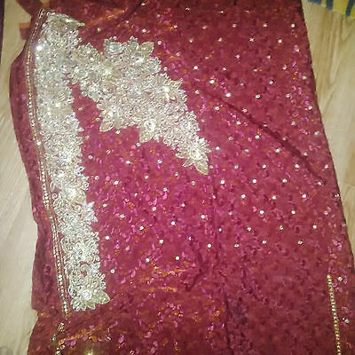 Punjabi salwar kameez unsitched  ladies suit