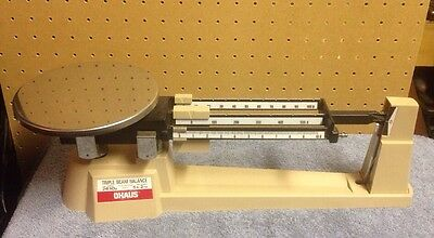 OHAUS Triple Beam Balance 800 Series Excellent Condition