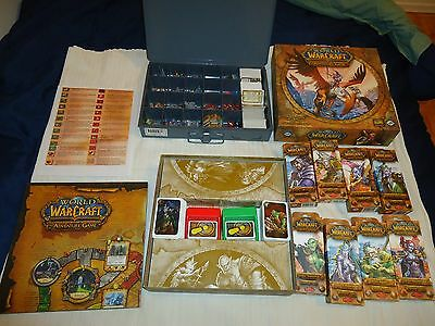 Complete set of World Of WarCraft The Adventure Game from Fantasy Flight
