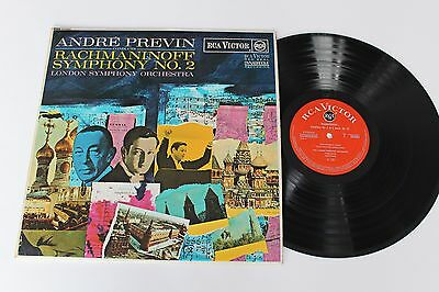 RACHMANINOFF /ANDRE PREVIN Symphony No. 2 LP 1966 RCA Victor LSC 2899 Stereo UK