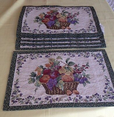 Placemats X 6