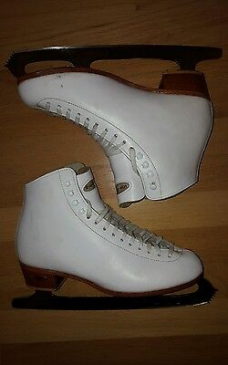 Riedell ice skates women size 8