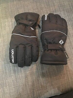 Men's Salomon Ski/Snowboard Gloves Size Medium