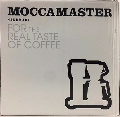 Moccamaster KBG741 AO 10-Cup Coffee Brewer Polished Silver - New Free Shipping