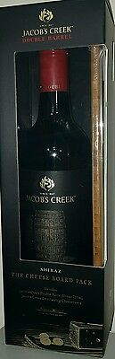 Jacobs Creek Double Barrel Shiraz wine 2014 Gift Pack w/cheeseboard