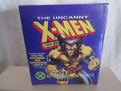 The Uncanny X-Men Trading Cards from Impel, 1992--new and sealed--(BH)