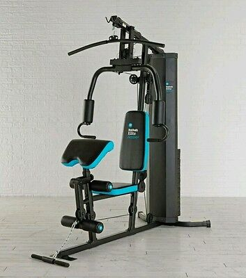 NEW Home Multi Gym MEN'S HEALTH ELITE Workout Station Bench Weight Exercise