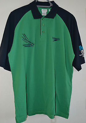 Mens Polo Shirt By Speedo / Size Large / 2008 World Swimming Championships