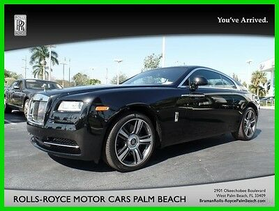 2014 Rolls-Royce Wraith Base Coupe 2-Door 2014 Used Turbo 6.6L V12 48V Automatic RWD Premium