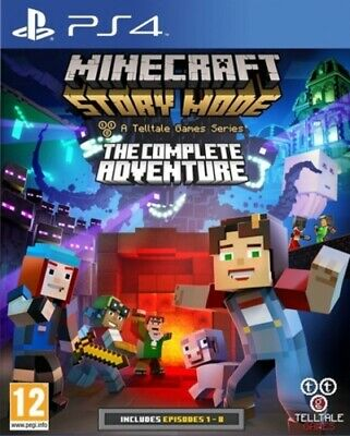 Minecraft Story Mode: The Complete Adventure (PS4) VideoGames