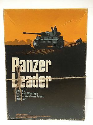 Vintage Avalon Hill Strategy Board Game Panzer Leader
