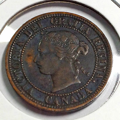 1882-H Canada One Large Cent Better Grade Coin