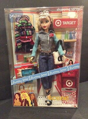 Barbie My Scene Target Shopping Spree DELANCEY Doll NRFB HTF Discontinued