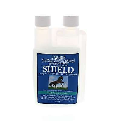 SHIELD Insecticidal Pour On Inceticide Horse Equine 250ml Pharmachem