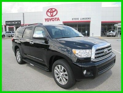 2016 Toyota Sequoia Limited 2016 Limited New 5.7L V8 32V Automatic RWD SUV Premium Moonroof