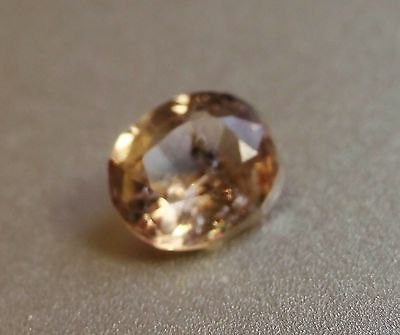 0.84cts Beautiful Champagne color change natural Axinite loose gemstone