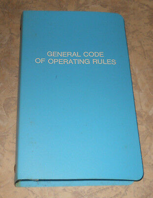 General Code of Operating Rules 4/27/1986