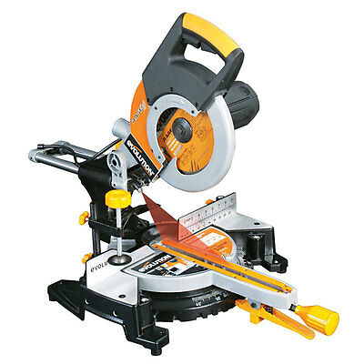 Evolution Rage3 255mm Multipurpose Slide Mitre Saw 110V