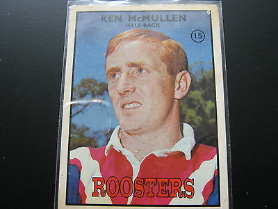 1968  Scanlens Rugby League Card Set  ((# 15 ))