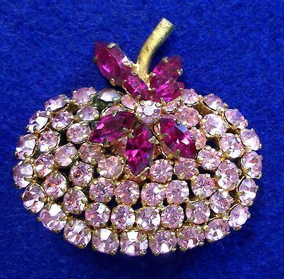 Vintage Rhinestone Scatter Pin Made in Austria