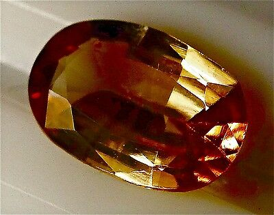 1.28cts Beautiful Golden Champagne color change natural Axinite loose gemstone