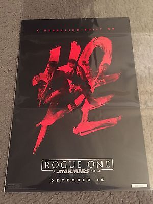 ROGUE ONE STAR WARS STORY Hope Poster El Capitan Theater Limited Numbered