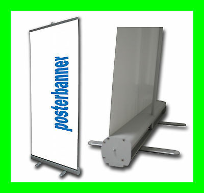 ROLL UP Banner DISPLAY inklusive DRUCK 80 x 200 cm Messestand