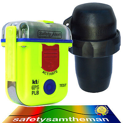 Kti Sa2G Epirb Plb Locator Beacon # Armband Pouch # Scuba Diver Large Canister