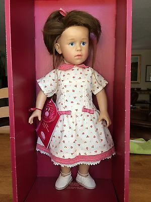 Gotz Handcrafted Numbered Doll, Hanna -Never Removed From Box
