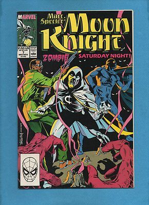 Marc Spector: Moon Knight #7 Marvel Comics November 1989