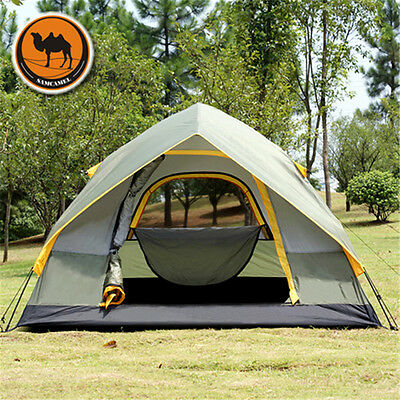 Bid High Quality Camel Brand Professional 4 Person 4-Season Oxford Outdoor Tent