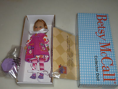 New In Box Betsy Mccall Collector Doll Show And Tell Nib Tonner