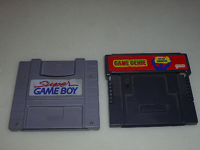 Snes Nintendo Game Genie Enhancer & Super Gameboy Galoob Lot