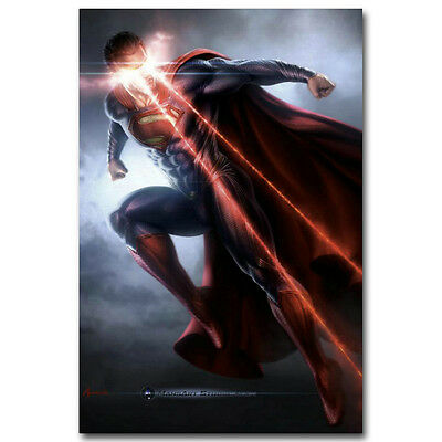 "2015 USA Super Hero Hot Movie 21x13/"" Poster H023 Batman vs Superman"