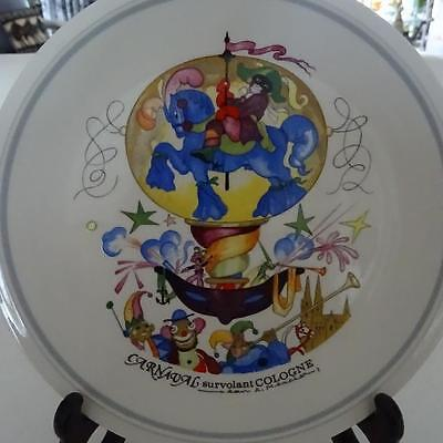 """Villeroy & Boch Famous """"Balloon Series"""" 1980's Plate - """"Cologne No1"""" - Germany"""