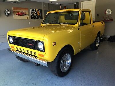 1977 International Harvester Scout Scout 2 1977 International Harvester Scout 2 Right Hand Drive Rare!!! RHD Scout II IH