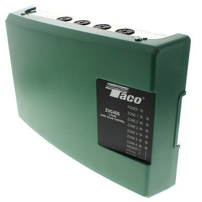New Taco Zvc406-4 Six Zone Valve Control Module With Priority