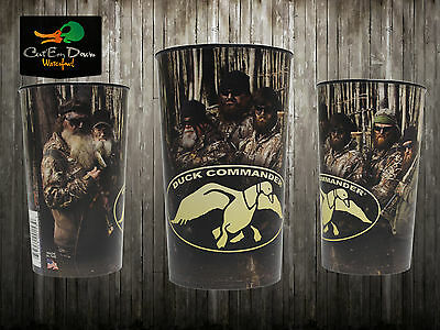 Authentic Duck Commander Dynasty Souvenir Cup With Phil Si Jase Willie Robertson