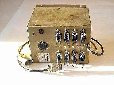 Studer A80 Channel Supply , Rare PSU Unit for 8 Audio Channel, Tested OK