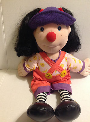 """Pbs Big Comfy Couch 20"""" Loonette Plush Doll 1995 Commonwealth Toy Vintage Htf"""