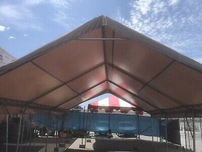 10x20 PVC Tent Top and Frame Only