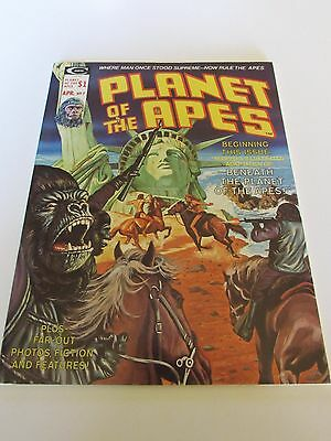 1974 Planet of the Apes Magazine / Comic #7 Wow! HIGH HIGH GRADE