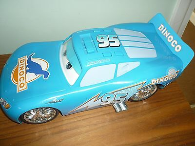 Disney Cars Dinoco Large car with sounds and light up wheels