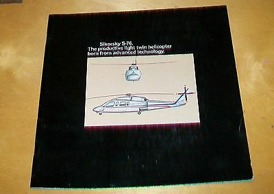 Sikorsky S-76 Light Twin Helicopter Brochure. August 1977
