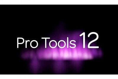 Avid Pro Tools 10 / 11 / 12 software + perpetual license on ILOK 2