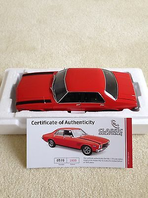 1.18 Holden Hq Ss Infra Red With Black Stripes