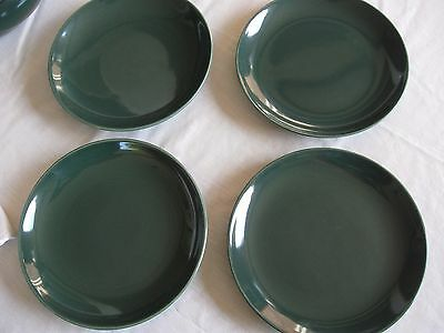 "Sale-Russell Wright Iroquois Casual Parsley Salad Plates 7 1/2"" (4)"