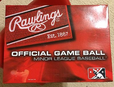 Rawlings Official Minor League Game Balls (one dozen sealed)
