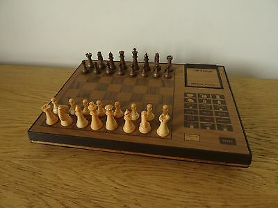 Vintage Very Rare SciSys Electronic Acetronic Sensor Chess Game Set - Hong Kong