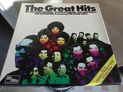 """The Great Hits . 2 Lp Box Set 12"""" Motown German Issue. With Original Poster.soul"""